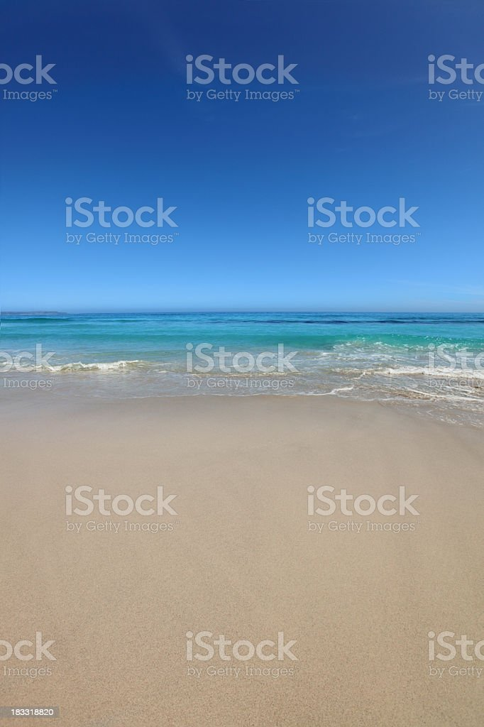 Scarborugh Beach, Cape Town, South Africa royalty-free stock photo