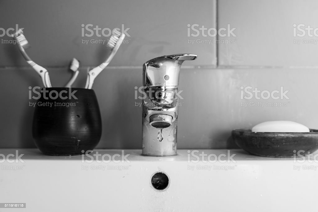 Scarce water stock photo