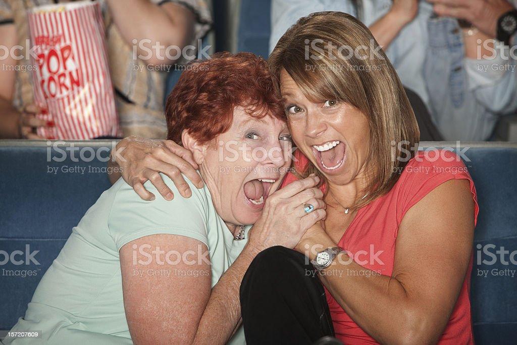 Scared Women royalty-free stock photo