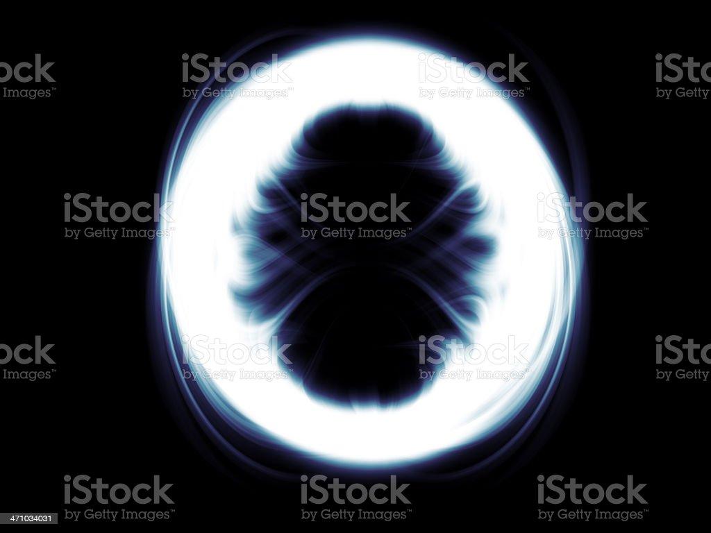 scarey circle royalty-free stock photo
