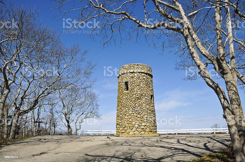 Scargo Tower stock photo