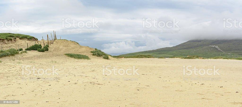 Scarista Beach on the Isle of Harris stock photo