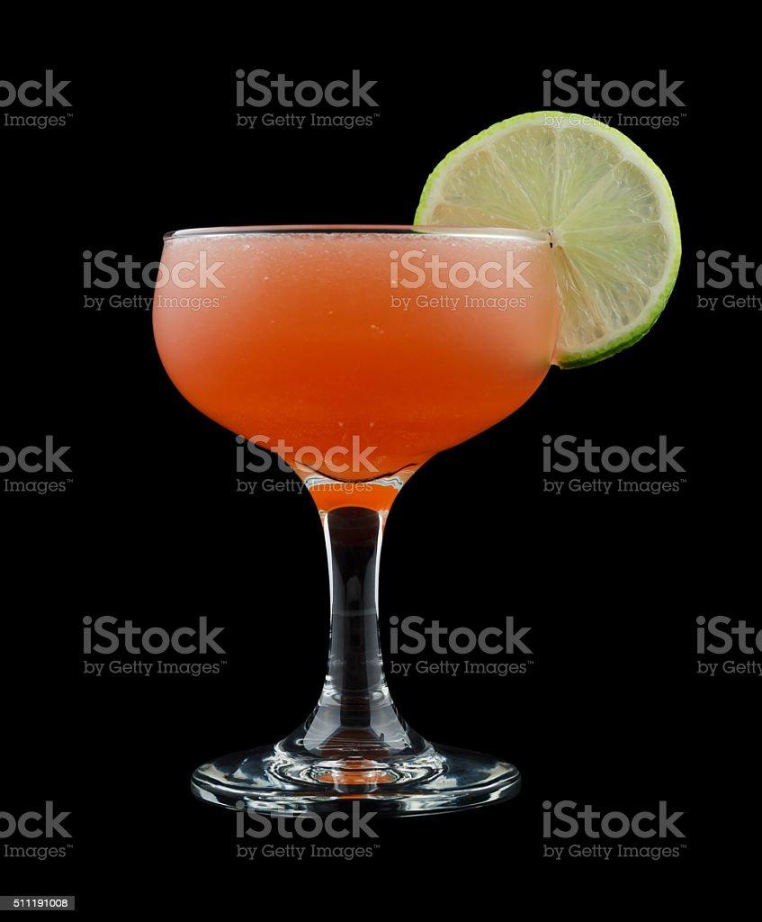 Scarlet O'Hara cocktail stock photo