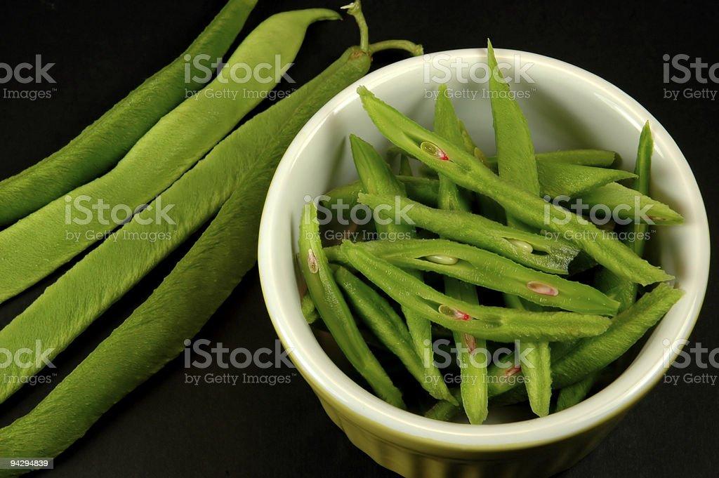 Scarlet runner beans* stock photo