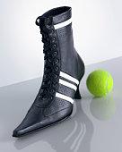 scarpa con pallina