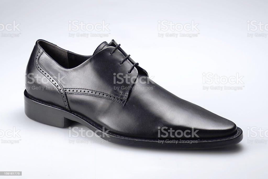 scarpa nera royalty-free stock photo