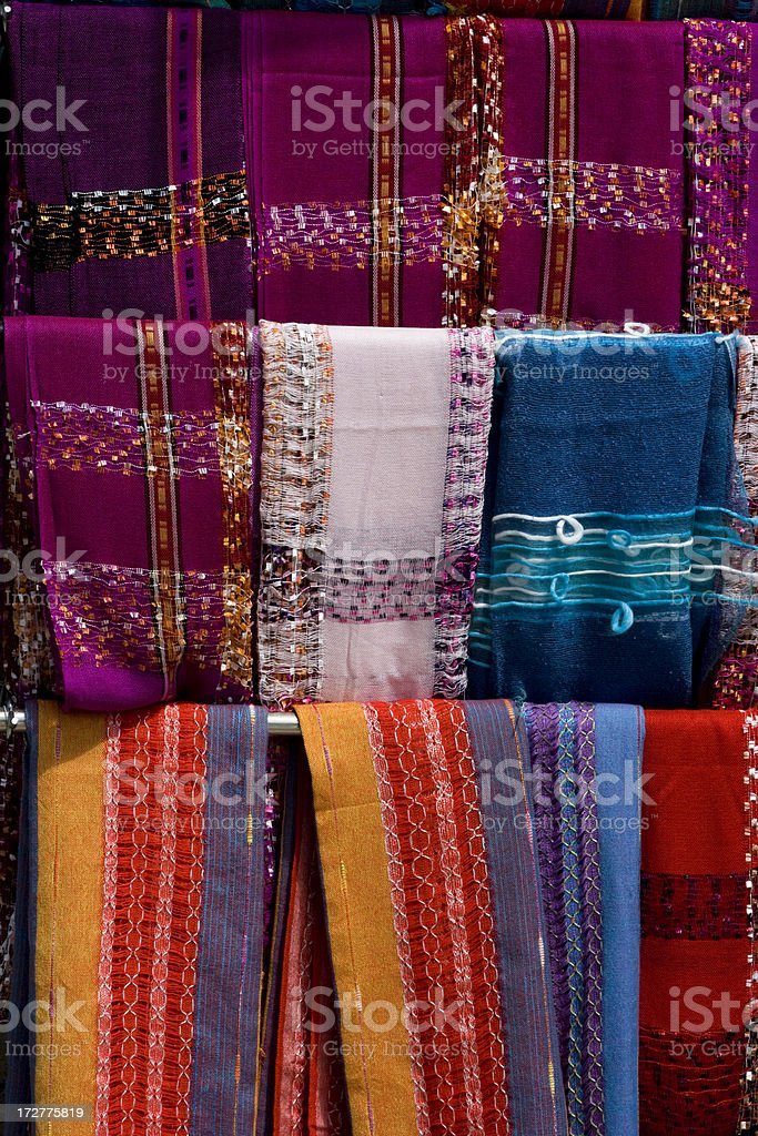 Scarves royalty-free stock photo