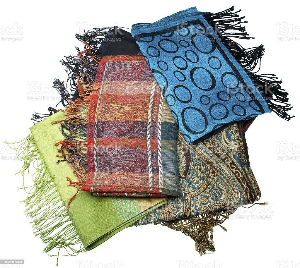 scarves royalty-free stock photo