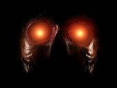 Scary alien monster