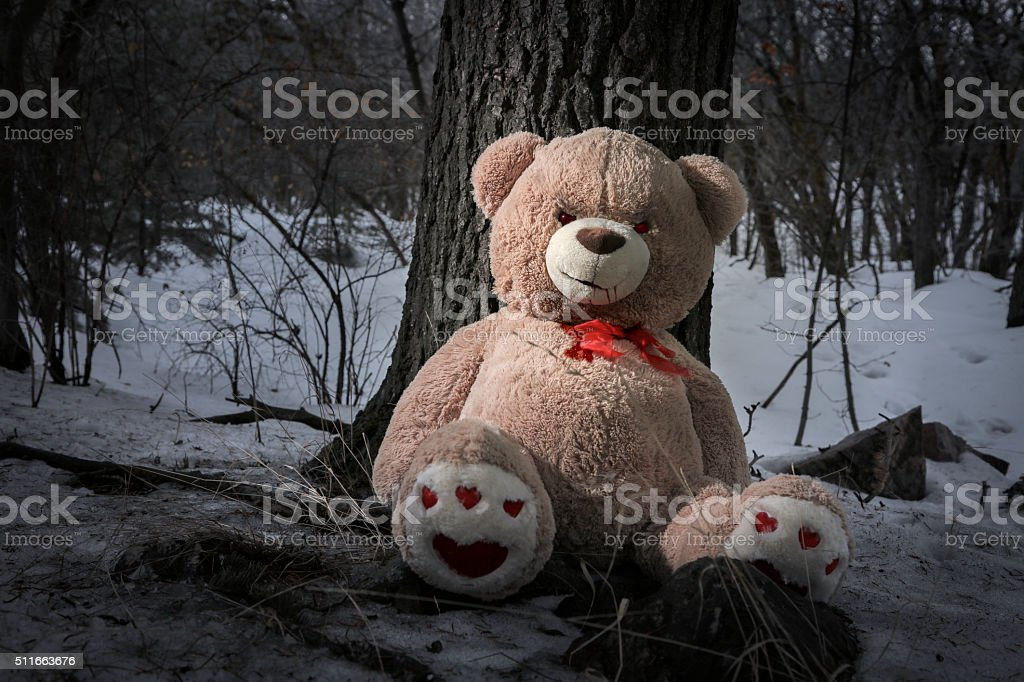 Scary Bear stock photo