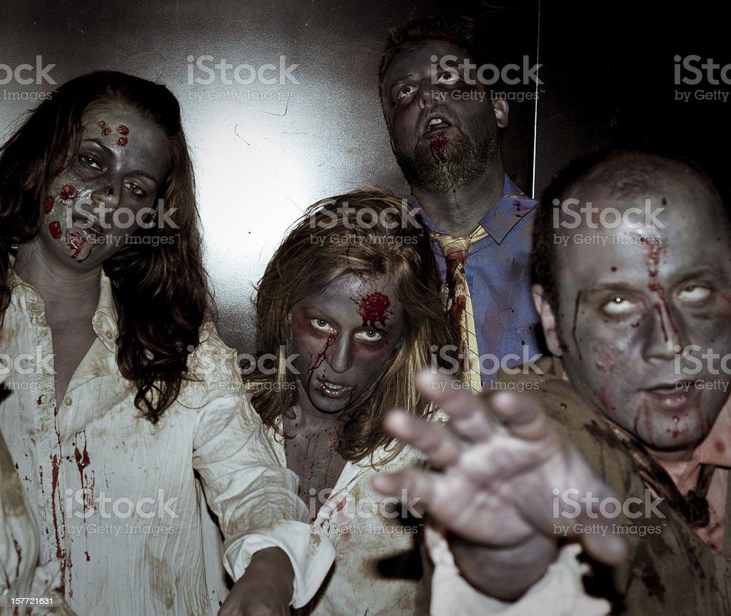 scary elevator royalty-free stock photo