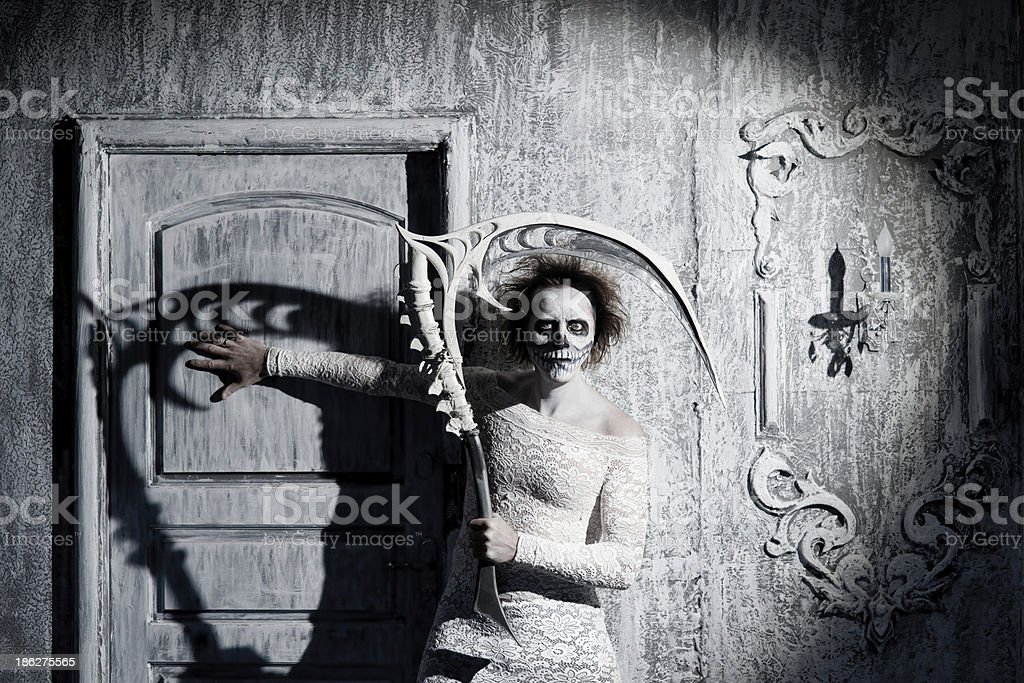 Scary ghost royalty-free stock photo