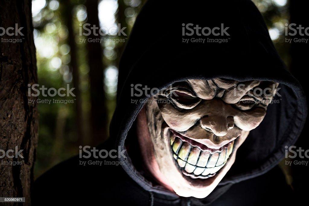 Scary Guy stock photo