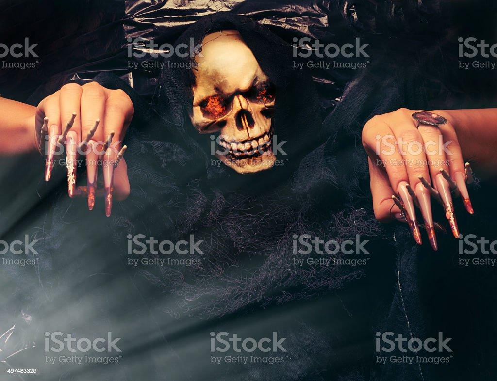 scary Halloween stock photo