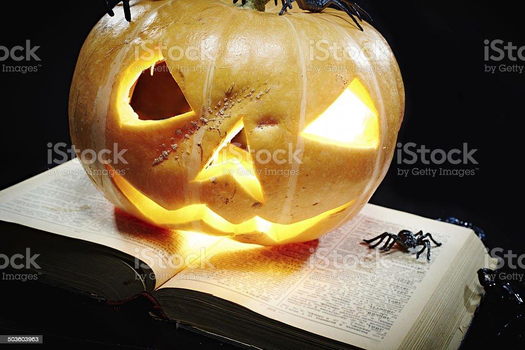 Scary Halloween symbol royalty-free stock photo