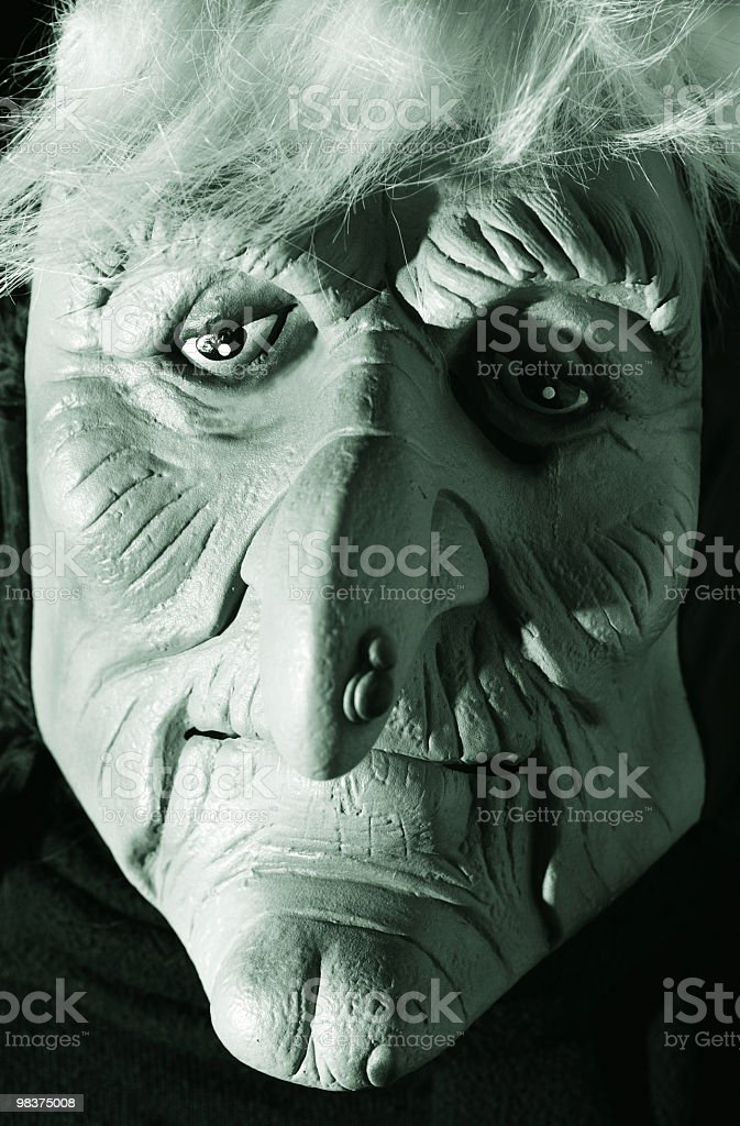 Scary Halloween Witch royalty-free stock photo