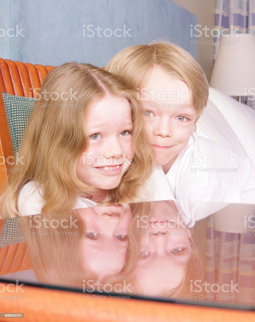 Scary Love stock photo
