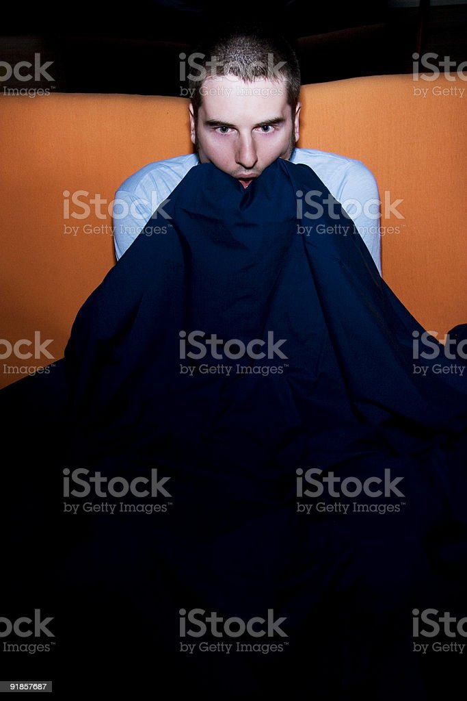 Scary Movie Night royalty-free stock photo