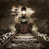 Scary train