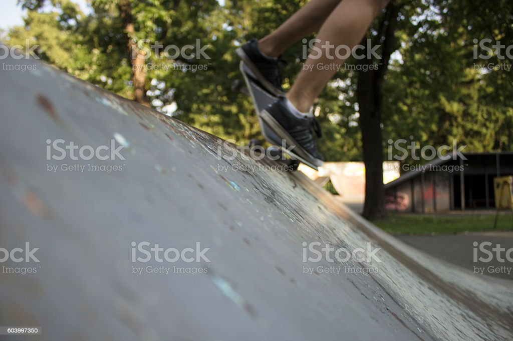 Scateboard stock photo