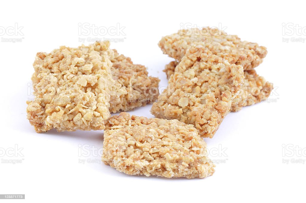 Scattered ANZAC Biscuits royalty-free stock photo