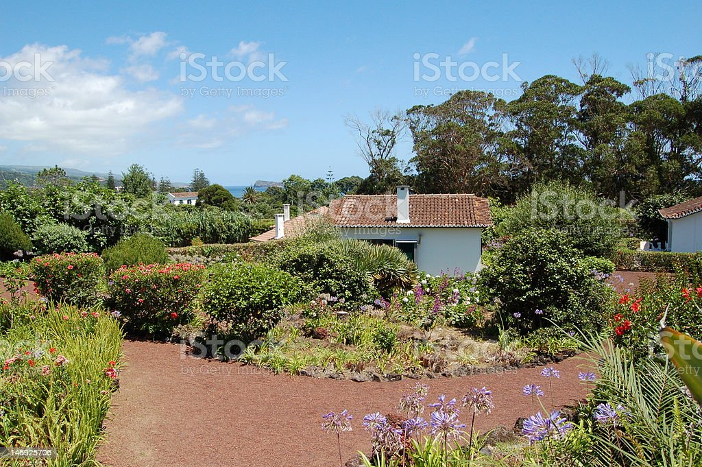 Scattered Houses royalty-free stock photo