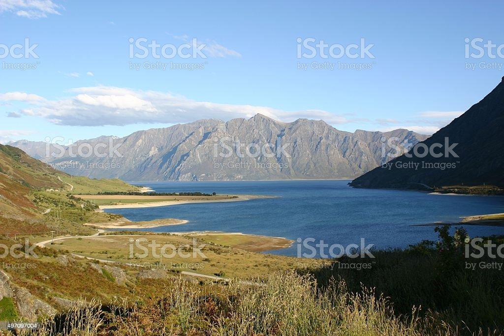 Sceenic New Zealand stock photo