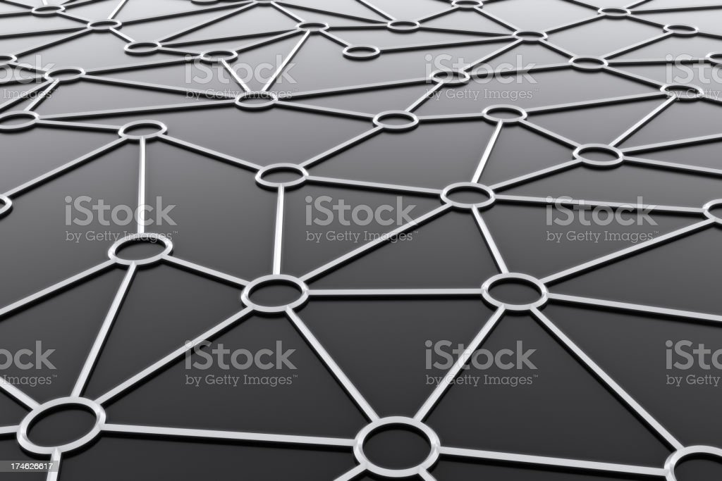 Scematic Network royalty-free stock photo