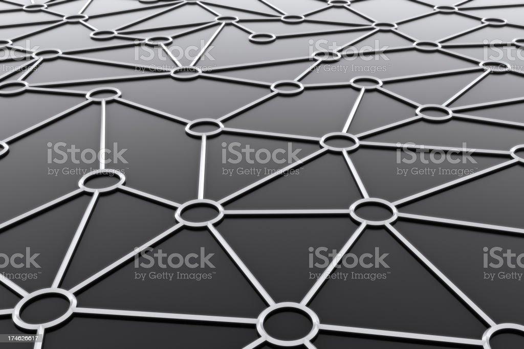 Scematic Network stock photo
