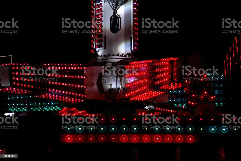 Scene at the funfair royalty-free stock photo