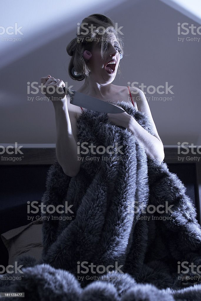 Scene From a B movie II royalty-free stock photo