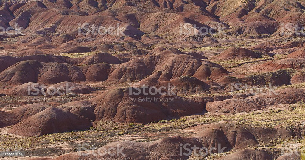 Scene from the Painted Desert, Arizona US royalty-free stock photo