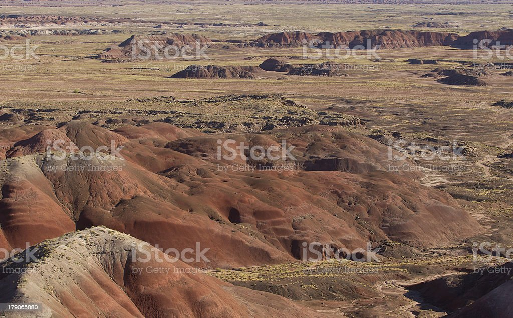 Scene from the Painted Desert, Arizona US royalty-free stock photo