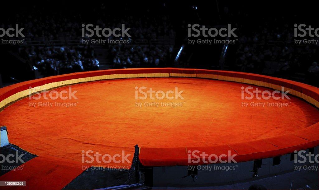 Scene of circus stock photo