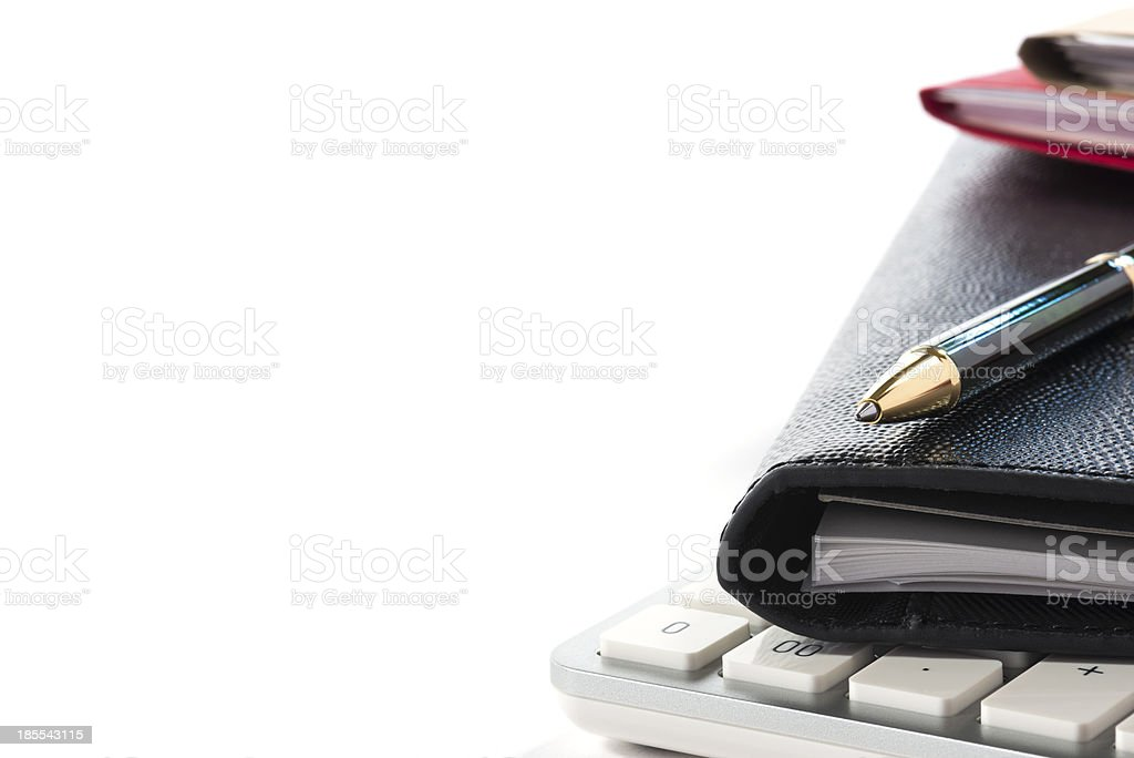 Scene of office work. royalty-free stock photo