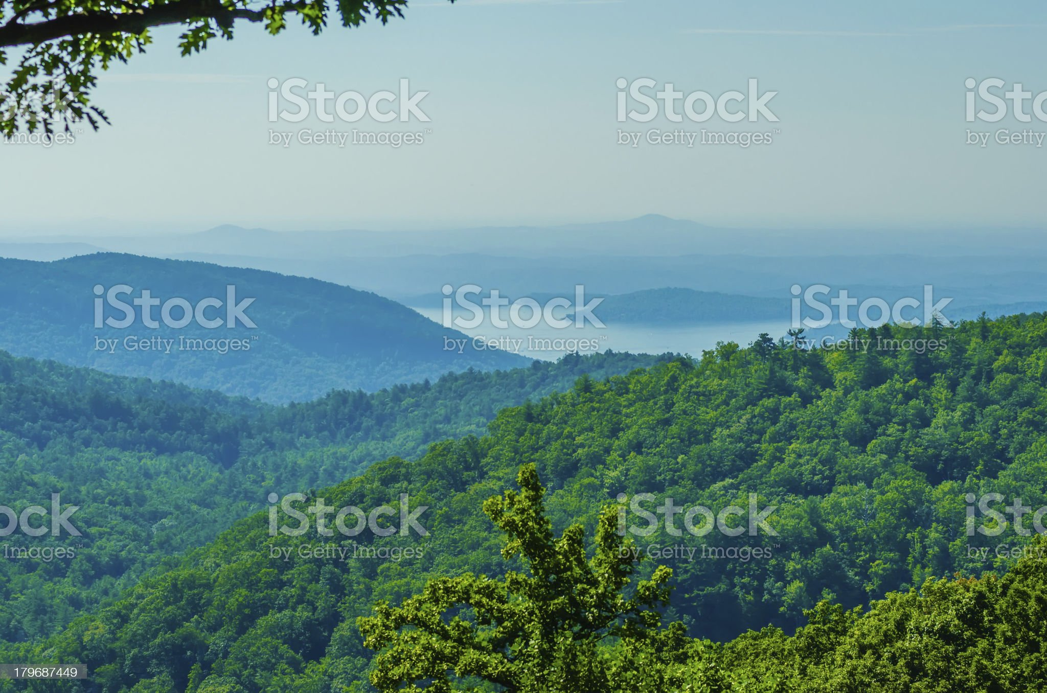 scenery around lake jocasse gorge royalty-free stock photo