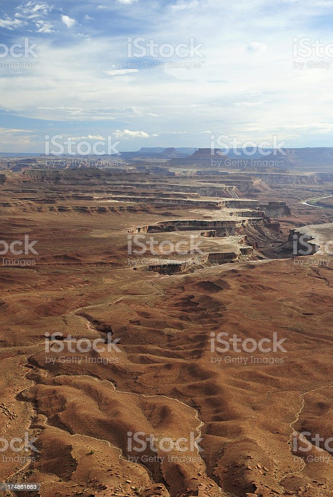 Scenery in Canyonlands National Park royalty-free stock photo
