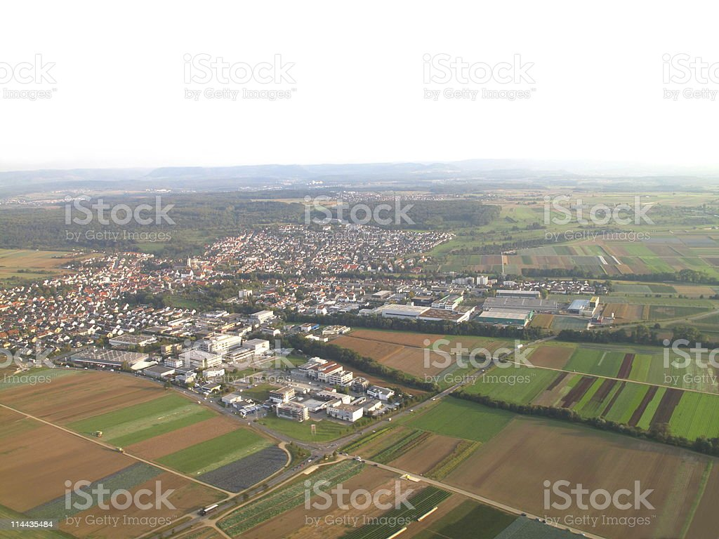 Scenery in South Germany royalty-free stock photo