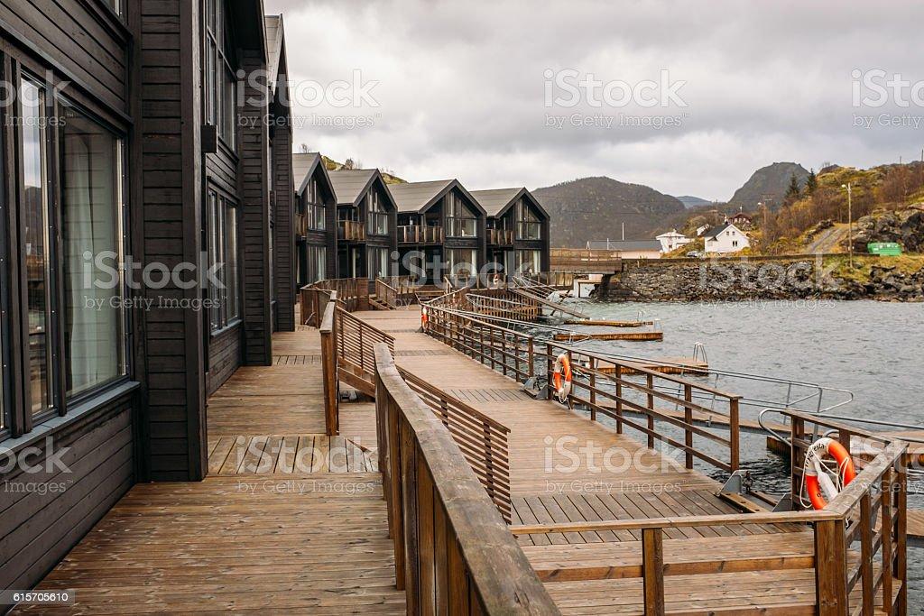 Scenery near Senja - Norway, Scandinavia, Europe. stock photo