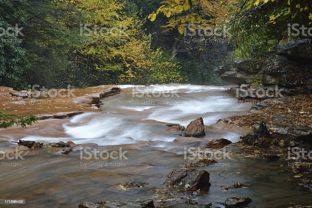 Scenery of Blackwater River stock photo