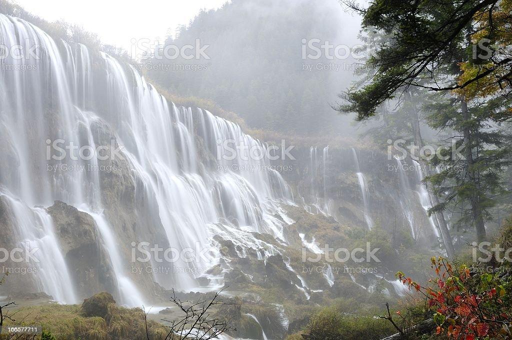 Scenery of Jiuzhaigou in Sichuan Province, China royalty-free stock photo