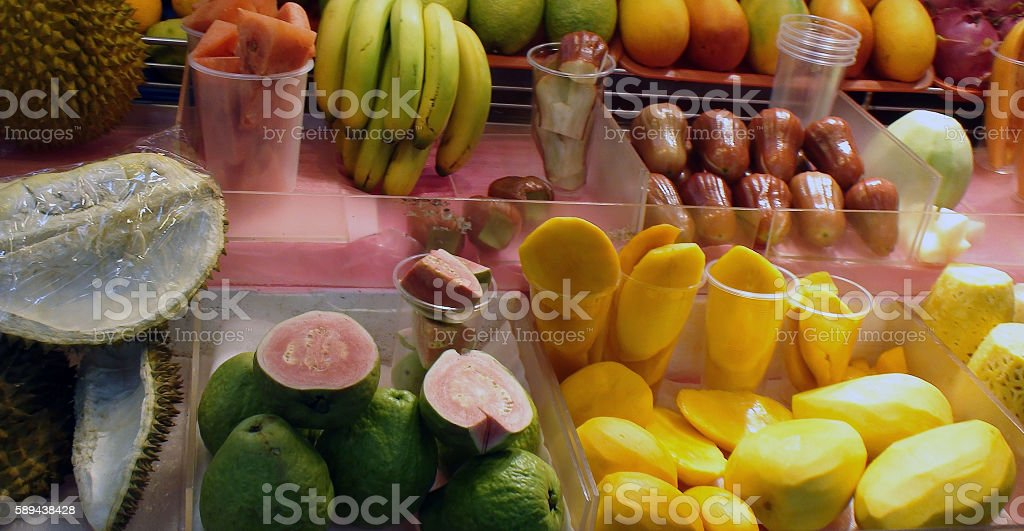 Scenery Of Variation Of Tropical Fruits In Taiwan Asia stock photo