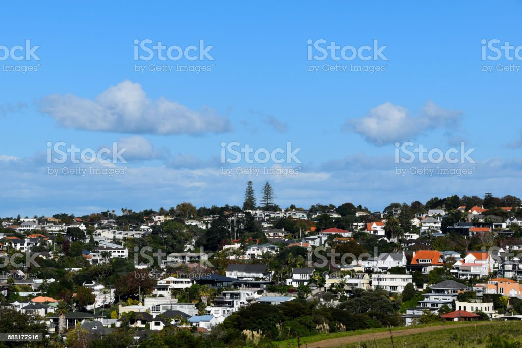 Scenes of New Zealand stock photo