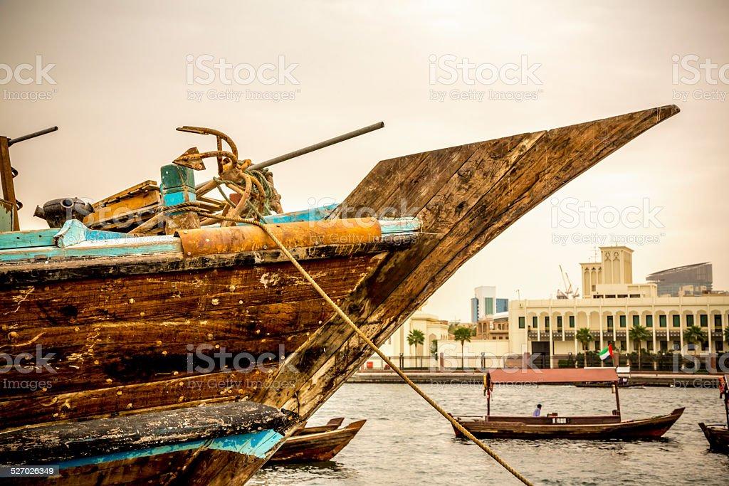 Scenes of old Dubaï stock photo