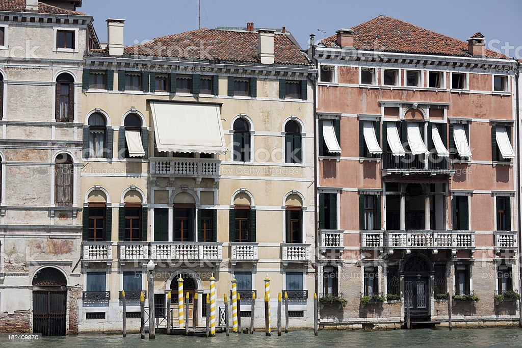 Scenes of Venice, Italy; Venezia Italia royalty-free stock photo
