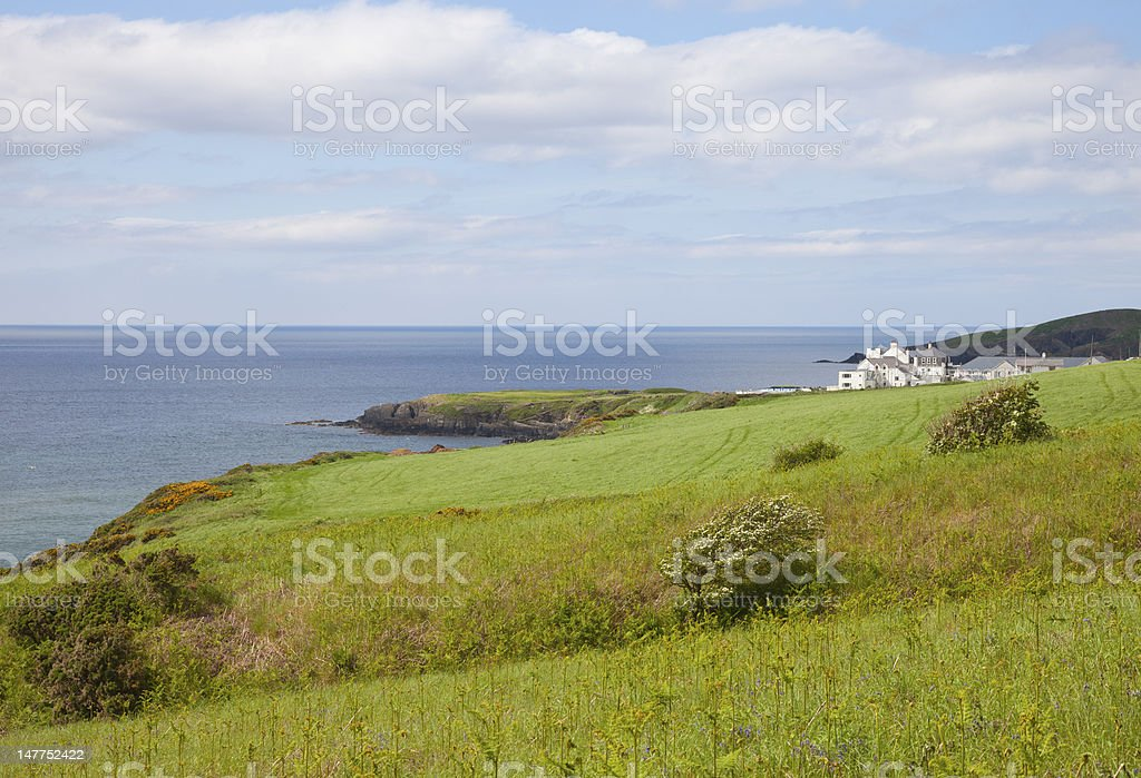 Scenic beach stock photo