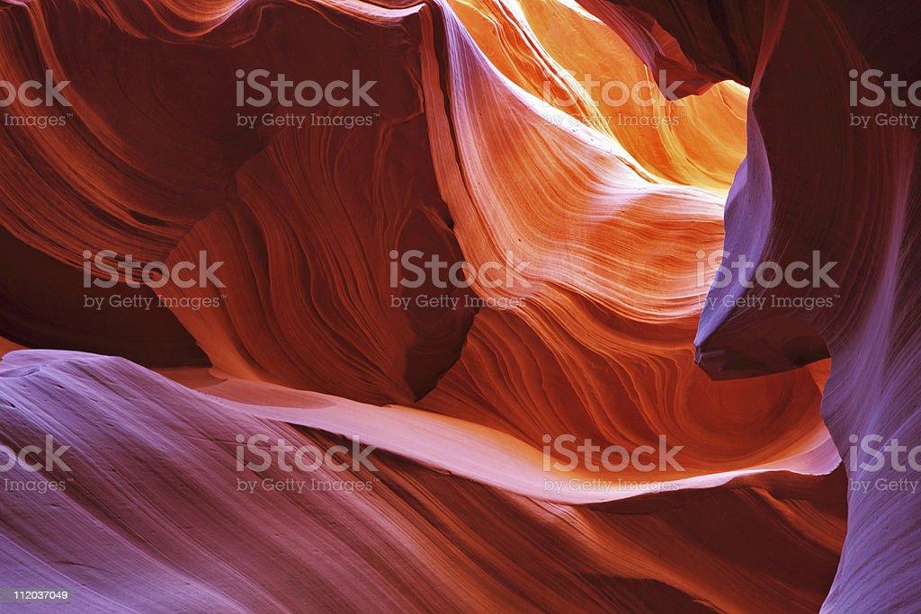 Scenic canyon Antelope stock photo