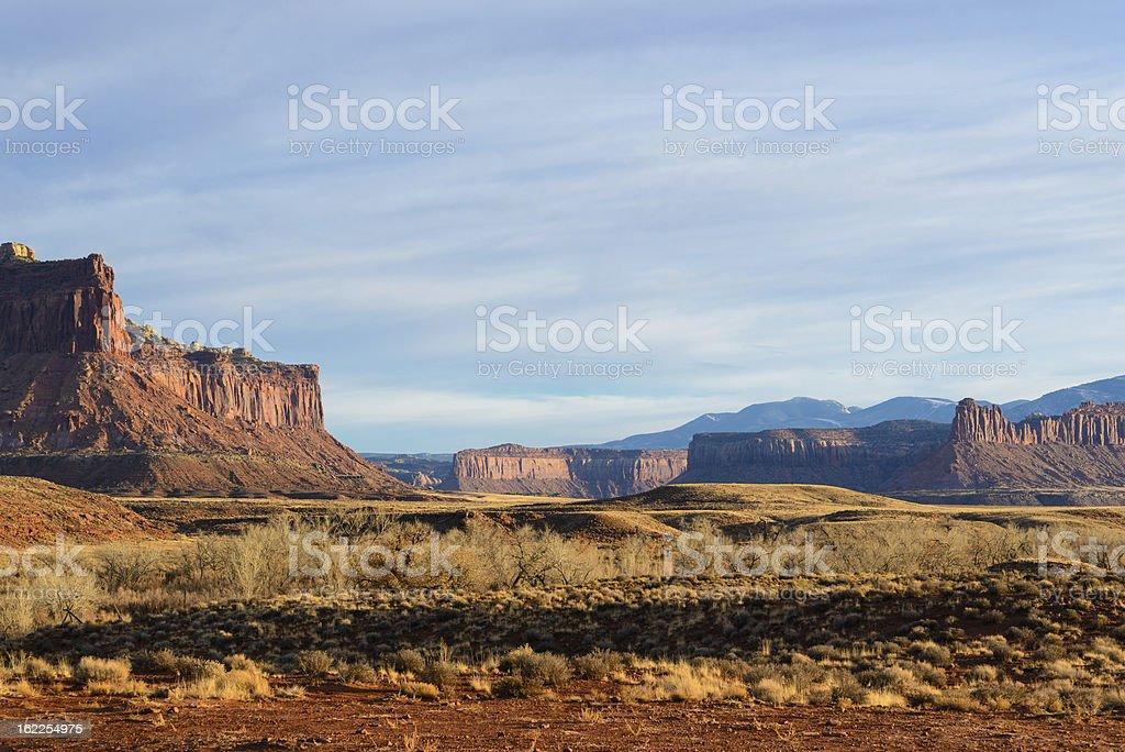 Scenic Canyonlands Landscape royalty-free stock photo