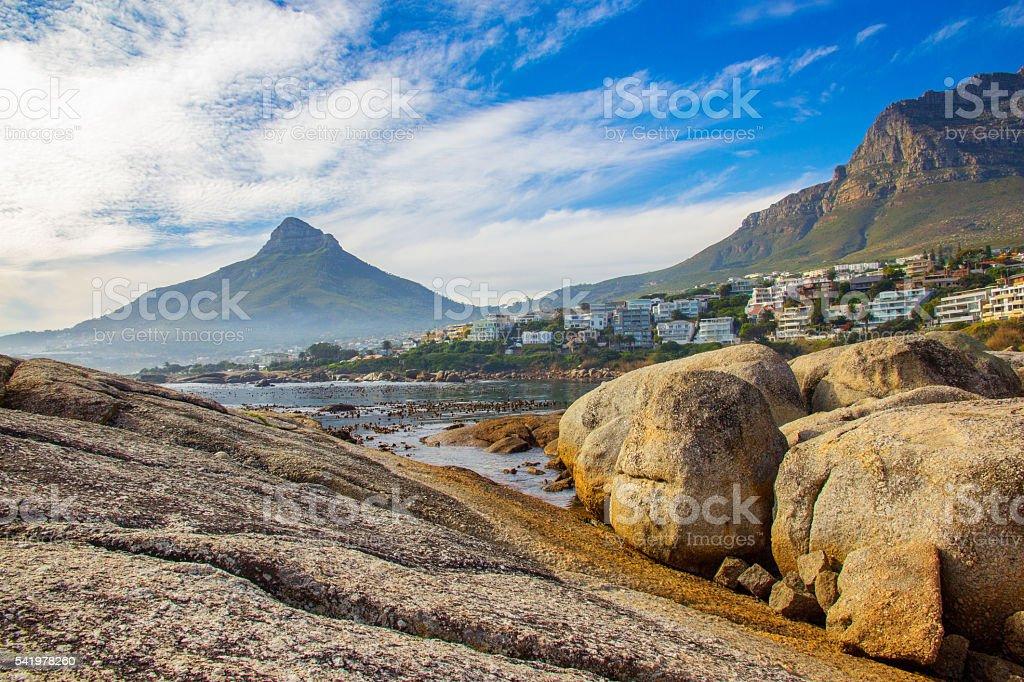 Scenic Cape Town stock photo