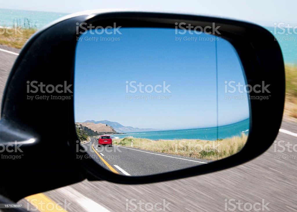Scenic Coastal Drive stock photo
